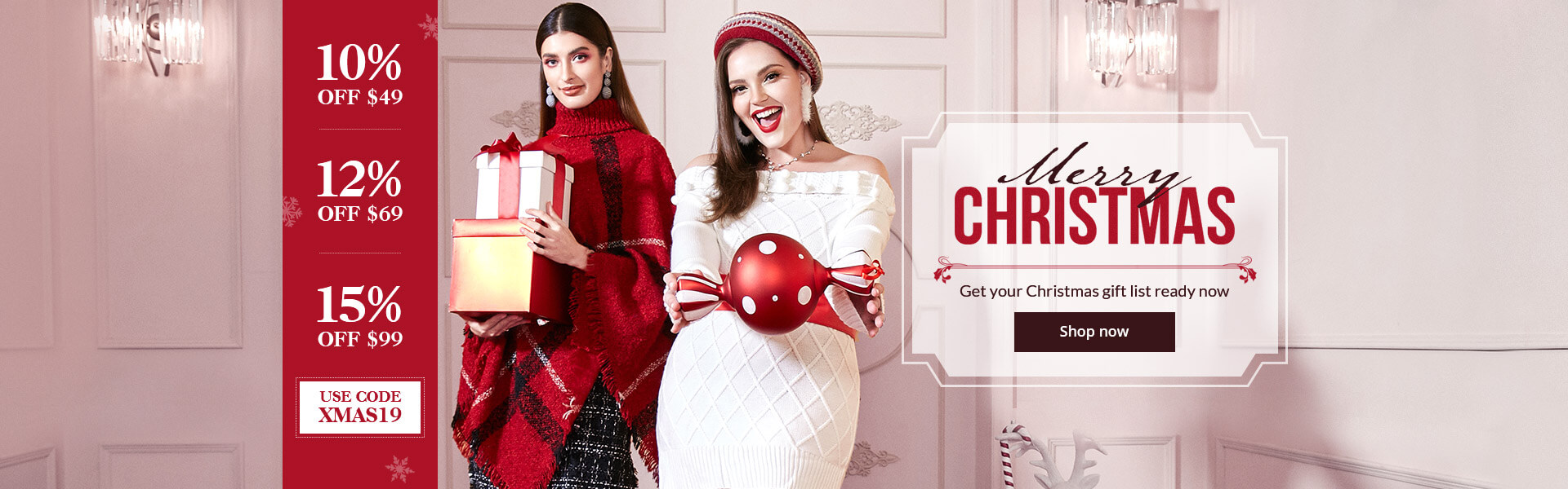 Christmas sale of chicloth