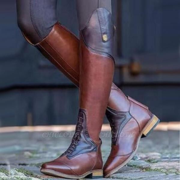B| Chicloth Mountain Horse Sovereign Field Boots