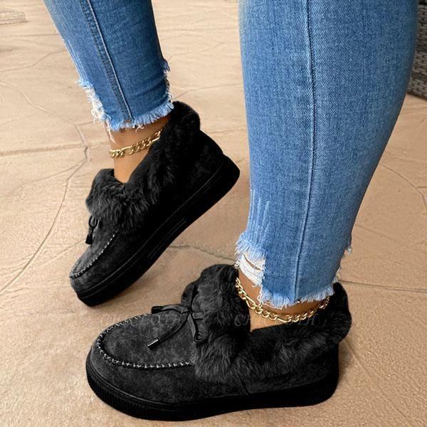 SD1924 Casual Fashion Flat boots