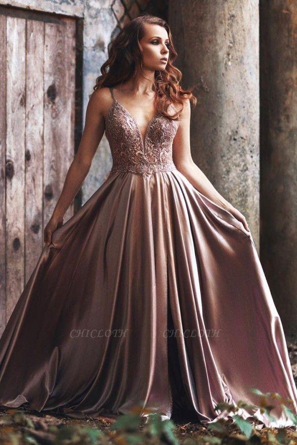 ZY437 Simple Evening Dresses Long Cheap Prom Dresses Online