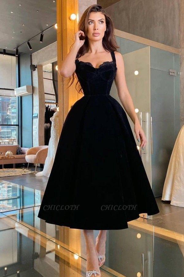 ZY413 Cocktail Dresses Short Black Evening Dresses Short Cheap