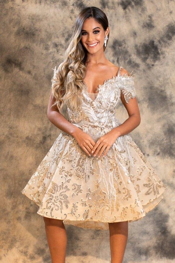 ZY459 Designer Cocktail Dresses Short Prom Dresses Lace Cheap