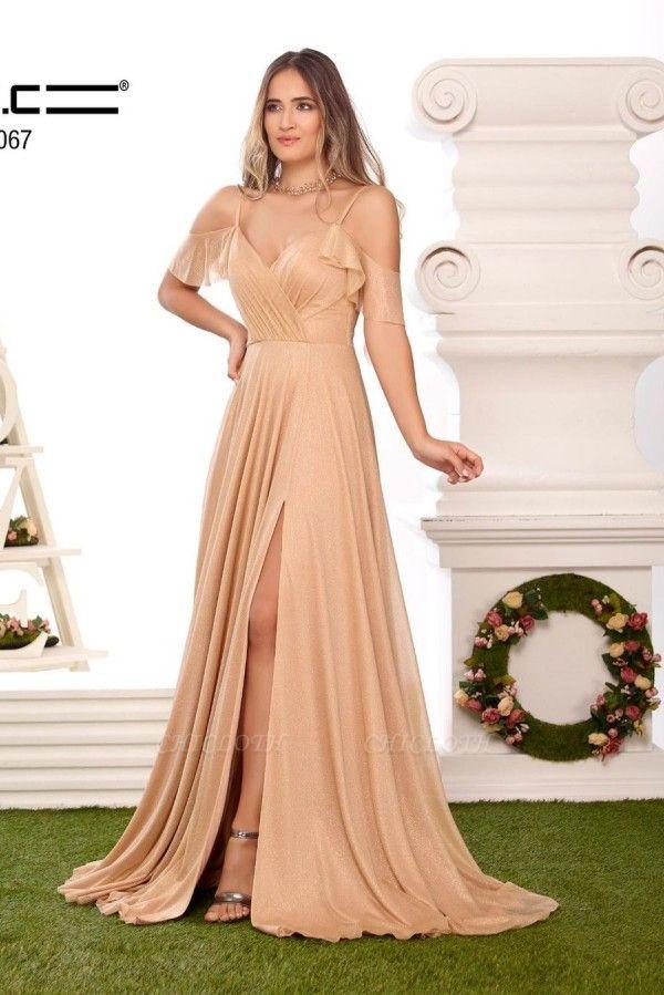 ZY470 Long Glitter Prom Dresses Buy Cheap Evening Dresses