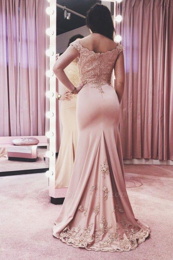 ZY134 Evening Dresses Long Pink Festive Evening Wear