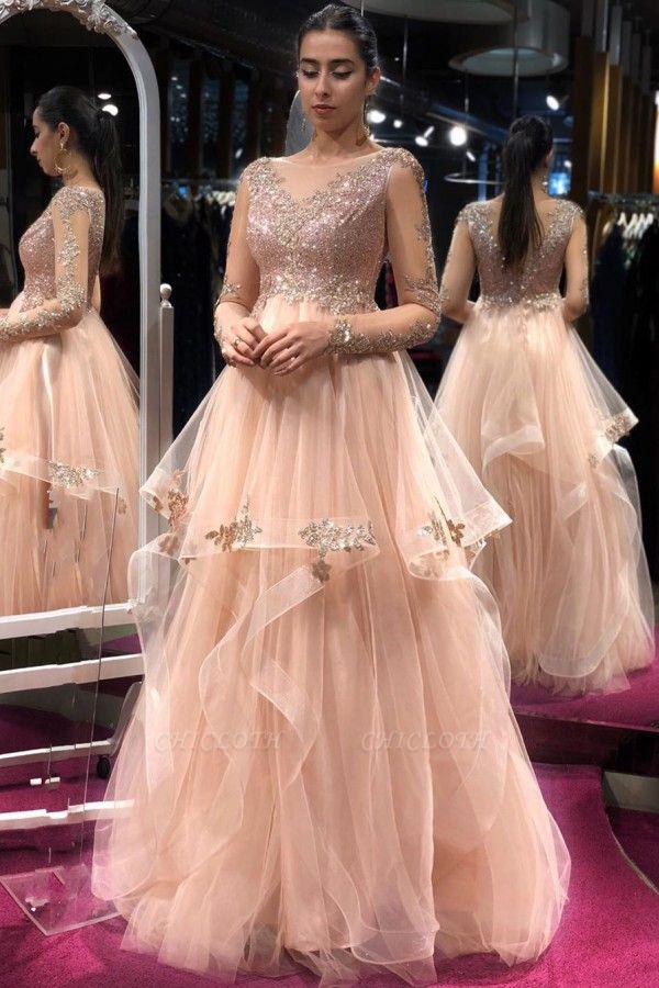 ZY329 Elegant Evening Dresses Long Glitter Buy Prom Dresses Online