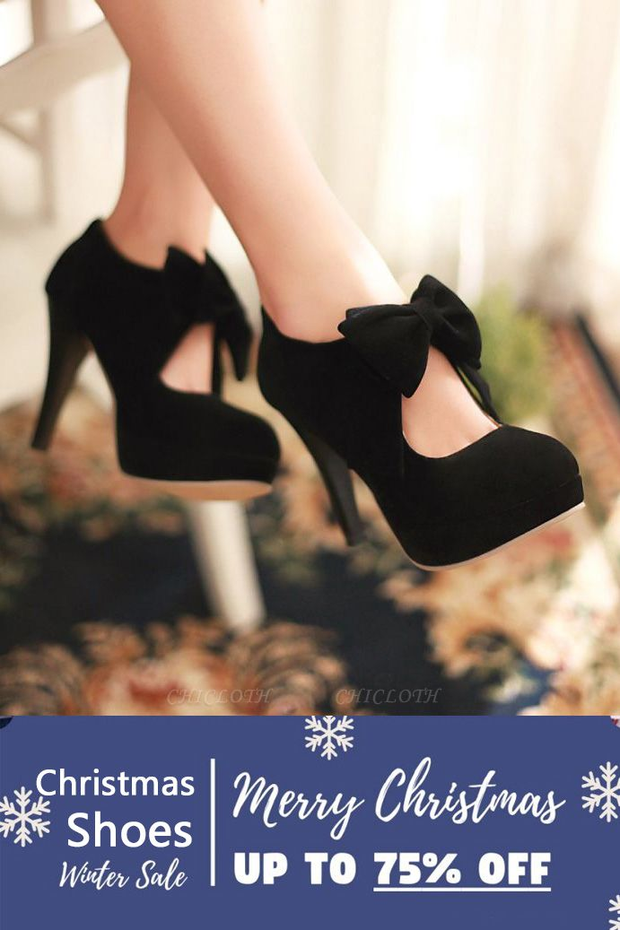 SD1261 Bow Tie Hollow Stiletto Heel Boots Women's Shoes