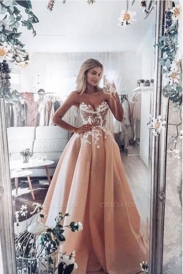 ZY348 Fashion Evening Dresses Long With Lace Prom Dresses Online Cheap