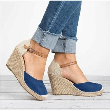 B| Chicloth Womens Wedge Sandals Ankle Boots_2