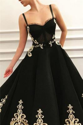 ZY047 Elegant Evening Dresses Long Black Prom Dresses With Lace_2