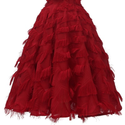 Burgundy Cute Short Women's Dresses Homecoming Dresses_7
