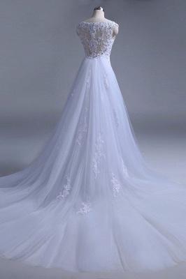 Chicloth Beading Tulle Mermaid Floor Length Wedding Dress_7