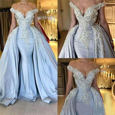 Lavender Sparkly Long Prom Dresses | Cheap Evening Gowns_4