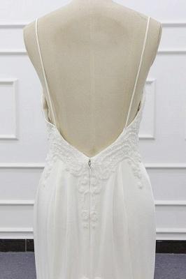 Chicloth Chic Spaghetti Strap Beading Mermaid Wedding Dress_8