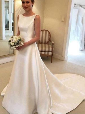 Chicloth Gorgeous Backless Ruffles Wedding Dresses_1