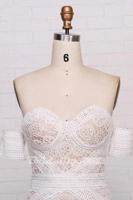 Chicloth Amazing Sweetheart Neck Lace Beach Boho Wedding Dress_6