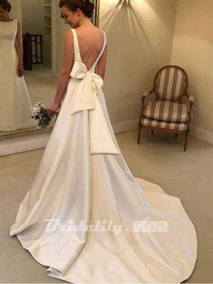 Chicloth Gorgeous Backless Ruffles Wedding Dresses_2
