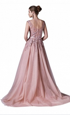 ZY378 Red Evening Dresses Long Cheap Prom Dress Lace Online_3