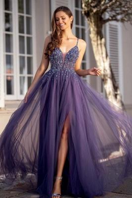 ZY439 Elegant Long Evening Dresses Cheap Prom Dresses Online_1