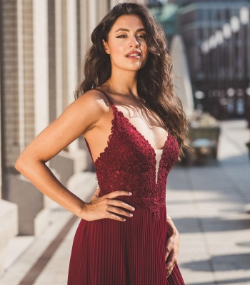 ZY438 Red Evening Dresses Cheap Buy Prom Dresses Online_2