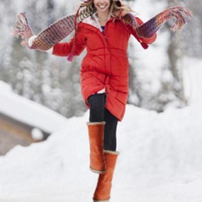 FFT480 Women Winter Fur Warm Snow Boots_3