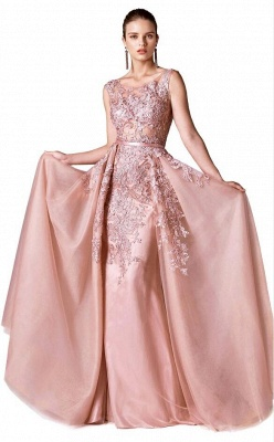 ZY378 Red Evening Dresses Long Cheap Prom Dress Lace Online_2