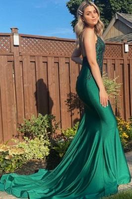 ZY476 Evening Dress Dark Green Prom Dresses Long Cheap_1