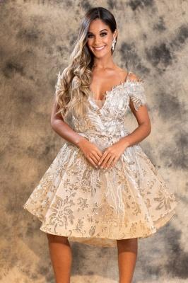 ZY459 Designer Cocktail Dresses Short Prom Dresses Lace Cheap_1