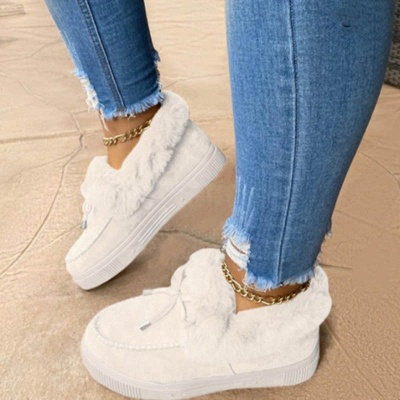 Fashion Warm Women Ankle Snow Boots(Ship in 72 Hours)_4