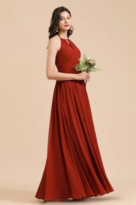 BM2004 Halter A-line Chiffon Bridesmaid Dress_7