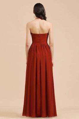 BM2004 Halter A-line Chiffon Bridesmaid Dress_3