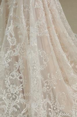 CPH233 Gergous Mermaid Appliques Further Tassel Open Back Wedding Dress_6