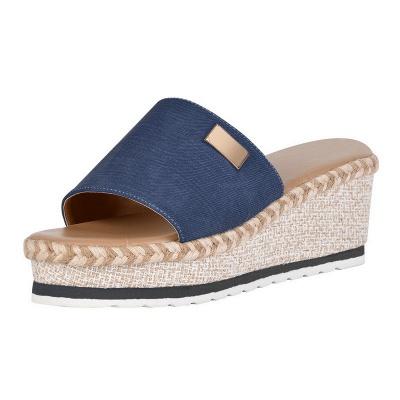SD2132 Platform Wedges Slippers Slides Women Sandals_3