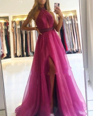 ZY639 Fuchsia Evening Dresses Long Cheap Prom Dresses Cheap Online_2