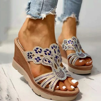Amazon Best Sellers: Best Women's Platform & Wedge Sandals_9