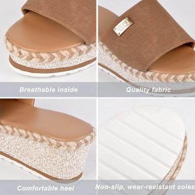 SD2132 Platform Wedges Slippers Slides Women Sandals_9