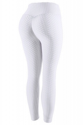 Women's High Waist Yoga Pants Tummy Control Slimming Booty Leggings_1