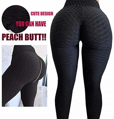 Women's High Waist Yoga Pants Tummy Control Slimming Booty Leggings_10