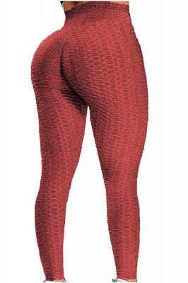 Women's High Waist Yoga Pants Tummy Control Slimming Booty Leggings_4