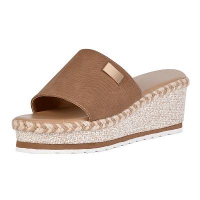 SD2132 Platform Wedges Slippers Slides Women Sandals_1