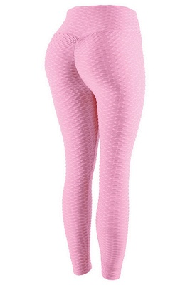 Women's High Waist Yoga Pants Tummy Control Slimming Booty Leggings_2
