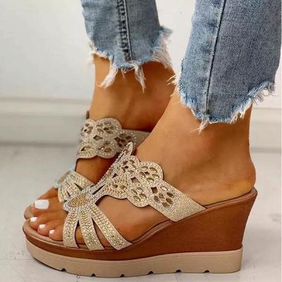 Amazon Best Sellers: Best Women's Platform & Wedge Sandals_5