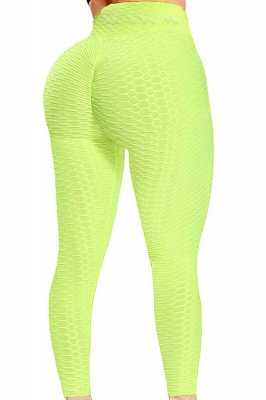 Women's High Waist Yoga Pants Tummy Control Slimming Booty Leggings_7