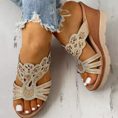 Amazon Best Sellers: Best Women's Platform & Wedge Sandals_1