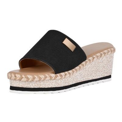 SD2132 Platform Wedges Slippers Slides Women Sandals_4