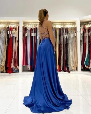 ZY623 King Blue Evening Dresses Long Prom Dresses Cheap_2