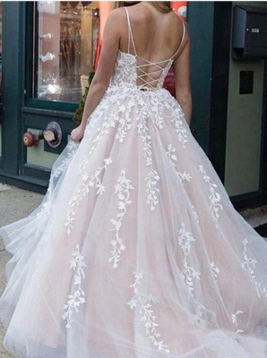 Sexy Long Prom Dresses   Lace Evening Gowns_2