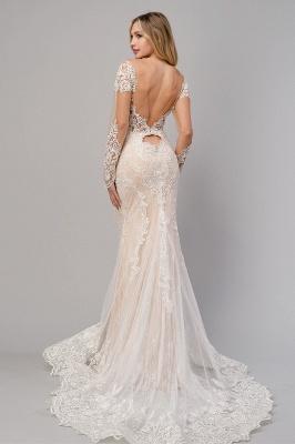 Design Lace Mermaid Wedding Dresses | Wedding Gowns Long Sleeves_2