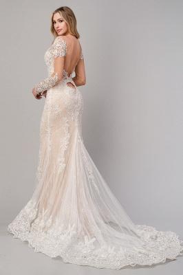 Design Lace Mermaid Wedding Dresses | Wedding Gowns Long Sleeves_3