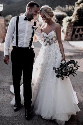 Cheap Boho Wedding Dresses A Line | Lace Wedding Gowns Online