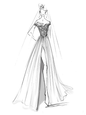 Boho Wedding Dresses 2021 With Lace Chiffon Bridal Gowns_6